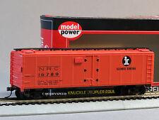 MODEL POWER HO 40' REEFER CAR ICG ILLINOIS CENTRAL 99653 ho gauge train 98262