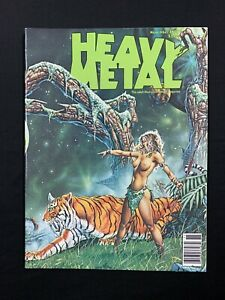 Heavy Metal Magazine Vol 2 #7 November 1979 Corben Moebius Jusko VF 1977 Series