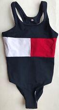 Tommy Hilfiger Girl's Flag Swimsuit - 6 Years - UG0UG00101-426