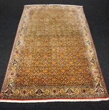 Orient Teppich Rotrost 174 x 115 cm Beige Perserteppich Herati Muster Carpet Rug