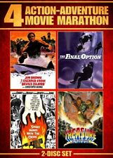 ACTION ADVENTURE 4 MOVIE MARATHON New DVD Treasure of the Four Crowns