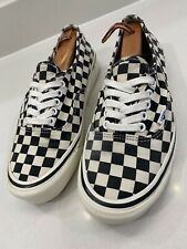 🔥🔥🔥 VANS Authentic 44 DX :: Anaheim Factory Black Checkerboard :: US Size 8