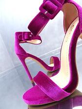 NEU 2017 1 cm Plateau Luxus Velour Sandalen Pumps Schuhe N48 Sexy High Heels 37