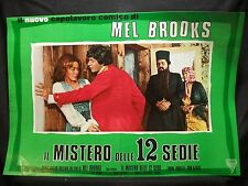 FOTOBUSTA CINEMA - IL MISTERO DELLE 12 SEDIE - MEL BROOKS - 1970 - COMMEDIA - 03