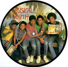 """MUSICAL YOUTH - NEVER GONNA GIVE YOU UP - EP 7""""45 VINYL RECORD PICTURE DISC 1983"""