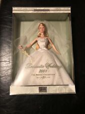 Romantic Wedding Barbie Doll 2001 Bridal Collection 2nd In Series NRFB