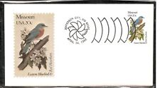 US SC # 1977 State Birds And Flowers ( Missouri ) FDC.  Andrews Cachet .