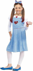 Wizard Of Oz Dorothy Child Costume Rubies Dress Classic Movie Party Halloween