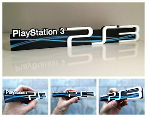 Sony Playstation 3 3D logo / shelf display / fridge magnet - gaming collectible