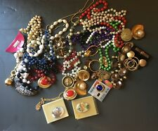 Vintage and Current Costume Jewelry Lot Set