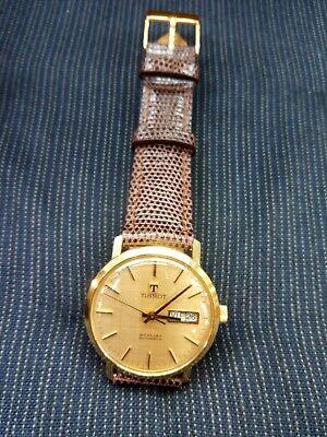 Reloj Tissot Caballero Oro