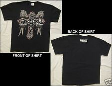 IMPACT Wrestling STORM & GUNNER Size Large Black T-Shirt