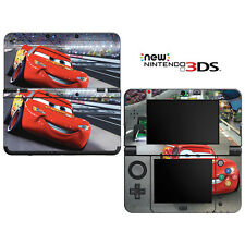 Vinyl Skin Decal Cover for Nintendo New 3DS - Racing Cars 2 Lightning McQueen 1
