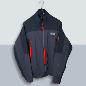 Mens Grey The North Face Summit Series Apex Soft Shell Jacket Size Large L) V207