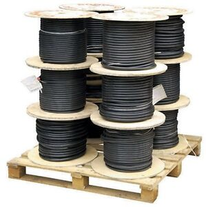 1.5mm 3 Core SWA Steel Wire Armoured Electrical Cable 100M  BASEC Approved XLPE