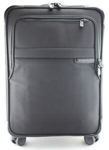 BRIGGS & RILEY 'Baseline' Black Nylon Domestic Expandable Carry-On - U122CXSP-4