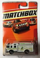 MATCHBOX EMERGENCY RESPONSE WHITE HAZMAT HAZARD SQUAD