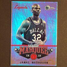 JAMAL MASHBURN 2012/13 Panini Marquee Legends #133 Dallas Mavericks single