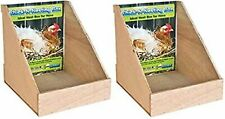 Ware Manufacturing Wood Open Chicken Nesting Box, Two Pack