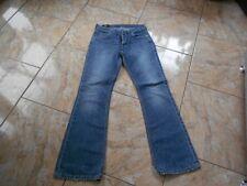 H7986 Lee Denver Jeans W30 L32 Mittelblau Unifarben Gut