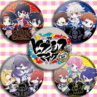 5pcs Sets HypnosisMic Division Rap Battle Anime Pin Button Brooch Badge Bedge