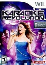 Karaoke Revolution  (Wii, 2009) W/MANUAL, NO MIC
