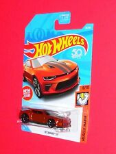 2018 Hot Wheels  '18 CAMARO SS #50 Muscle Mania FJV49-D9C0D D case