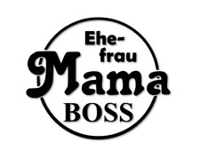 Ehefrau Mama Boss Aufkleber Tuning Sticker Styling Wife Man decal 24 #8343