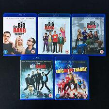 The Big Bang Theory Complete Season 1-5 BLU RAY Bundle (1, 2, 3, 4, 5)