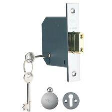 NEW Yale P-M552-CH-78 5 Lever External High Security Door Deadlock 76mm - Chrome