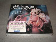 VERONIQUE SANSON LES ANNEES AMERICAINES / COFFRET 3 CD NEUF