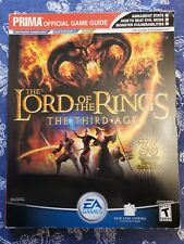 Lord of the Rings : The Third Age by Prima Temp Authors Staff (2004, Paperback)