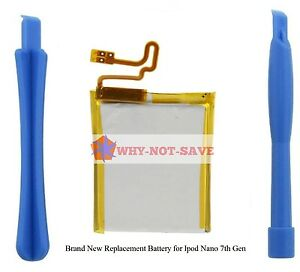 Replacement internal battery for ipod Nano 7 7G 7TH GEN A1446 16GB TOP US SELLER