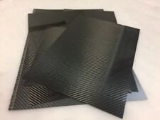 Carbon Fiber Scraps Various Sizes and Thicknesses -1/2 lb. Veneer Thicknesses