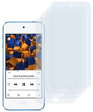 mumbi 4x Folie für Apple iPod Touch 5G 6G 7G Schutzfolie Displayschutz Display