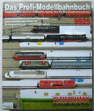 ProfiGleissystem Modellbahnbuch 9925 -1-2 H0 FLEISCHMANN Gleisplan Ratgeber 1988