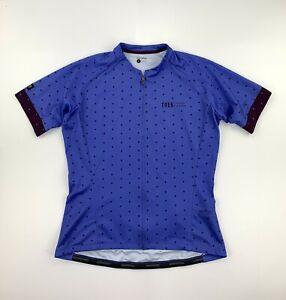 Trek Bontrager Women's Cycling Jersey Size XL Purple
