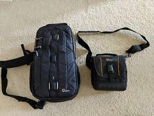 Lowepro Slingshot Edge 250 AW BLACK and Adventure SH 140 II Camera Case DSLR