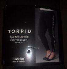 SEXY BBW FASHION BEAUTIFUL LEGGING Cropped Length Side Stud Leggings