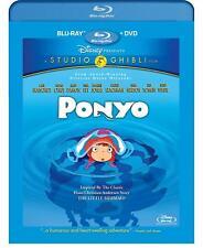 Ponyo (Blu-ray/DVD, 2010, 2-Disc Set)
