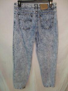 Levi's 550 100% Cotton  Pepper Wash VINTAGE 34 x 31 Straight Fit Blue Jeans