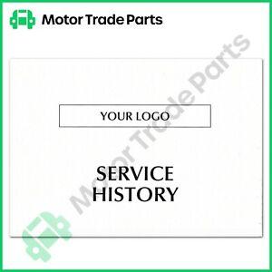 Service History book x 100
