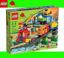 LEGO Duplo 10508 Cargo Train Super SET Bridge Tunnel fuel pump Sound effects