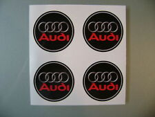 4x 45 mm fits audi wheel STICKERS center badge centre trim cap hub  alloy  r