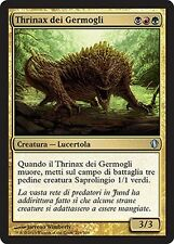 2x Thrinax dei Germogli - Sprouting Thrinax MTG MAGIC C13 Commander 2013 Ita