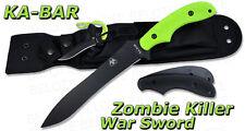 Ka-Bar KaBar ZK Zombie Killer War Sword w/ Sheath NEW MADE IN USA 5701