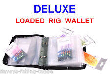 FLADEN DELUXE LOADED RIG WALLET+10 SEA PIER BOAT FISHING SPINNING ROD RIGS LURES