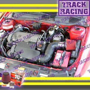 96 97 98 BUICK SKYLARK OLDSMOBILE ACHIEVA 3.1L V6 AIR INTAKE KIT+K&N Red