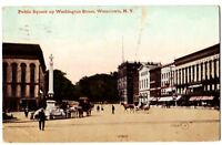 1910 WATERTOWN New York NY Postcard Public Square