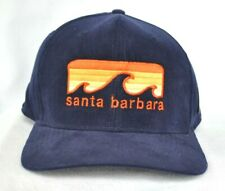 *SANTA BARBARA CALIFORNIA* Surfing Wave Ball cap hat Corduroy Snapback *OURAY*